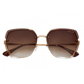 OKULARY damskie BLOGER STYL LAILA MUCHY BROWN P34