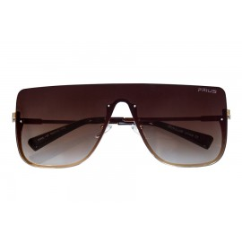 OKULARY damskie STYL GLAM FASHION ZITA BROWN P37